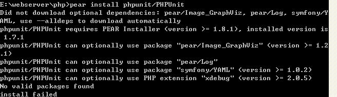 phpunit package